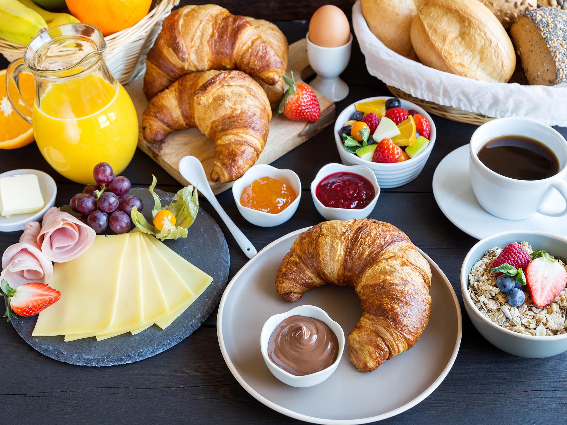 Frühstück im Holztal